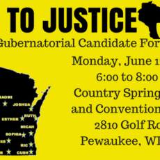 GUBERNATORIAL CAMPAIGN FORUM JUNE 11.  BE THERE!